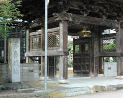 藤島城址(福井市藤島町、西超勝寺)