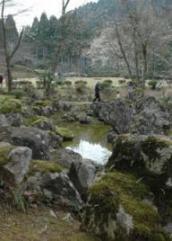 湯殿跡庭園