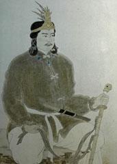 旧丸岡町が描いた継体天皇のイラスト