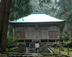 安政6年(1859年)に再建された拝殿