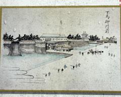 幕末に描かれた福井城の下馬御門