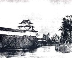 福井城の南東隅「巽櫓」付近