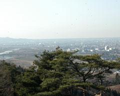 手繰ヶ城山古墳からの眺望