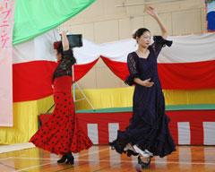 フラメンコサークル「サリール」の初舞台
