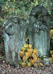 盛源寺の等身大の石仏