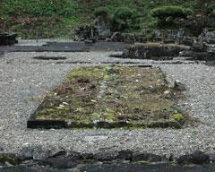 日本最古で戦国時代の花壇