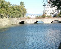 福井城址御本城橋