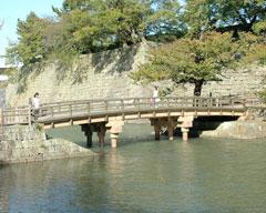 福井城址御廊下橋付近