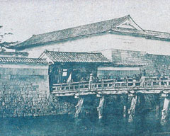 明治初期の福井城大手門