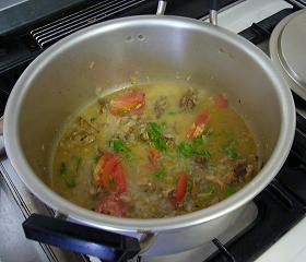 チキンカリーのお鍋