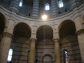 洗礼堂の内部