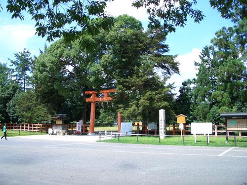上賀茂神社正面