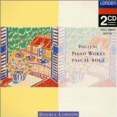 プーランク:ピアノ曲集