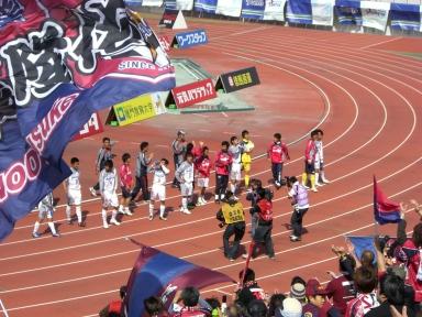 徳島戦勝利
