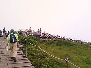 大山登山6