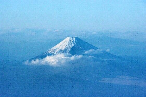 294.相模灘の富士山