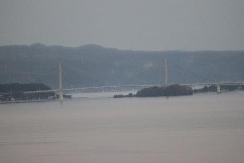 七尾湾の夜明け2