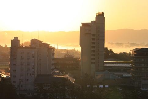 七尾湾の夜明け7