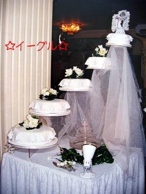 ウェディングケーキ2