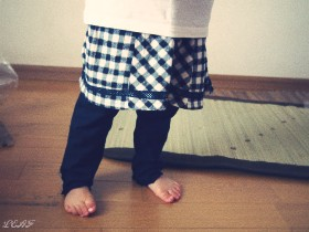 Biquette(ビケット) スカート付スパッツ【秋物】キムラタンの子供服