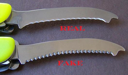 Secret Order Of Swiss Army Knives Fake Rescue Comparison
