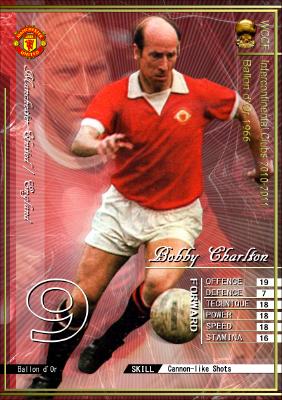 WCCF バロンドール特集 第1弾 ボビー・チャールトン(Bobby Charlton) | コインのWCCFオリカblog - 楽天ブログ