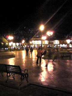 20081029クスコアルマス広場の夜景
