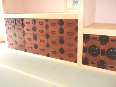 仙台箪笥の再生修理完成