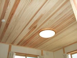 杉の天井板