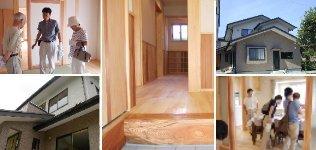 多賀城市新田 木の香る二世帯住宅
