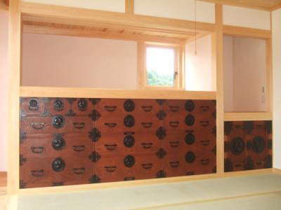 仙台箪笥の再生修理