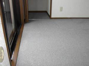 既存の床カーペット