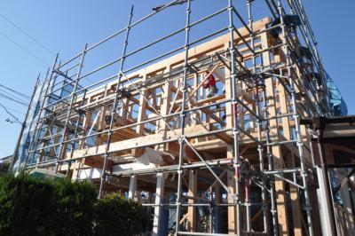 塩釜の家建て方3