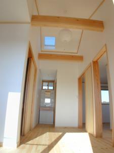 2階勾配天井ファミリーホール