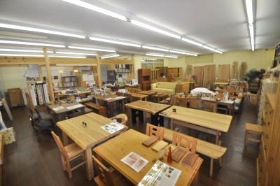 自然素材家具のお店