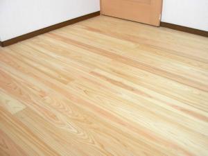 桧の床板2
