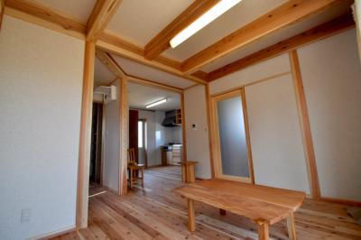 居間欅テーブル