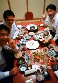 小野社長と会食
