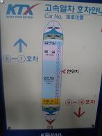 KTX座席図