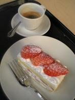 Leeum  カフェケーキ