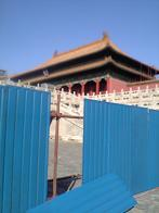 改修工事中の太和殿