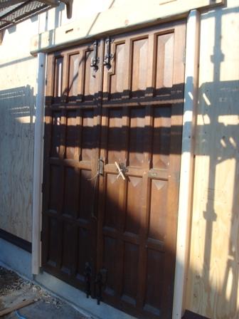 家を建てる Front Door