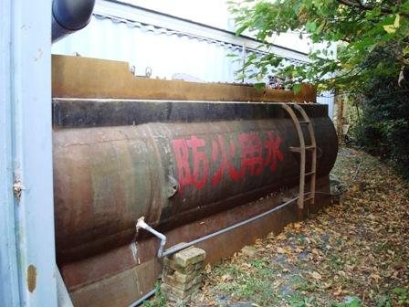 欧州建材の雨水タンク