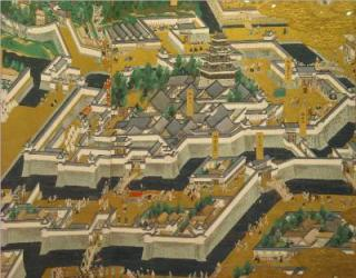 江戸東京博物館江戸城古城図