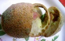 ペニンシュラ ソーセージとチーズのパン.JPG