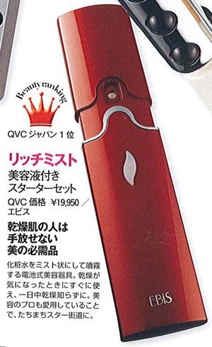 美顔器部門でCVCジャパン1位を受賞しました!