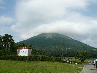 雨上がりの大山