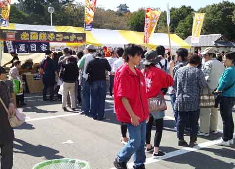 2011浜松餃子まつりの夏目家大行列その1
