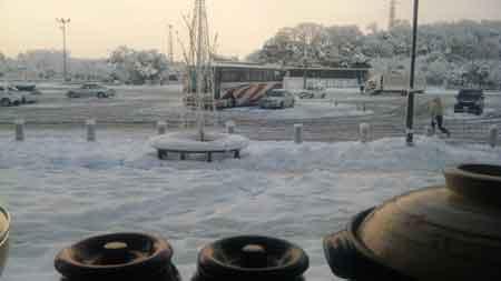 2011年1月17日の大雪。。。