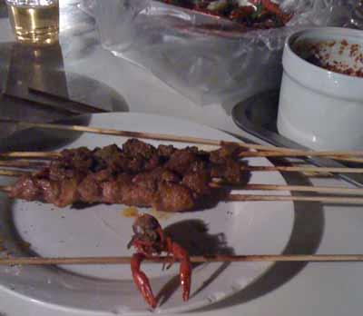 ラム肉とか結構、やわらかくて美味しい。